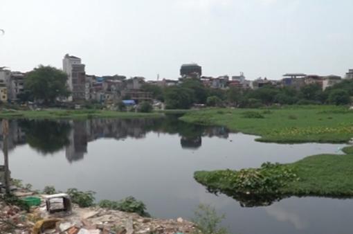 Người dân khổ vì hồ Linh Quang ô nhiễm