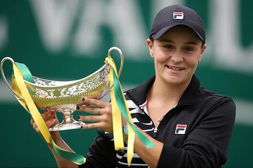 Ashleigh Barty vươn lên số 1 thế giới với chức vô địch Birmingham Classic
