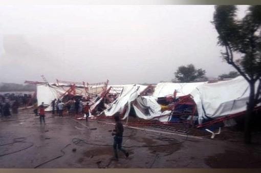 Sập lều tại miền Tây Ấn Độ, ít nhất 14 người thiệt mạng