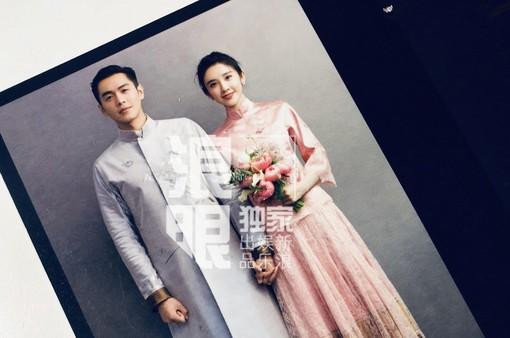 Trương Nhược Quân và Đường Nghệ Hân hé lộ ảnh cưới tuyệt đẹp