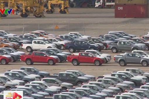 5 tháng đầu năm, nhập khẩu ô tô tăng gấp 7 lần cùng kỳ