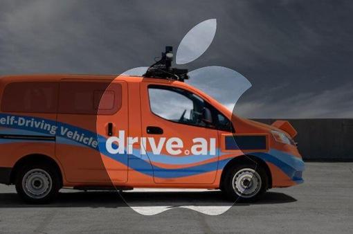 Apple mua start-up xe tự lái Drive.ai