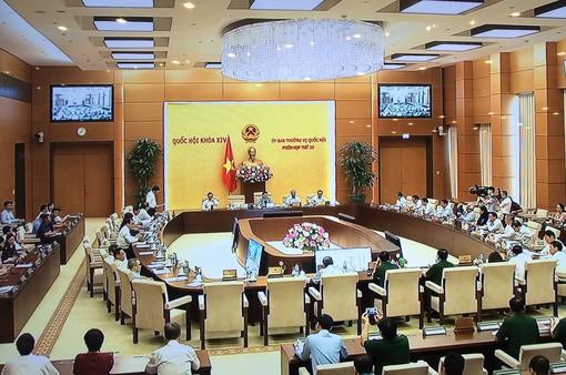Phiên họp thứ 35 Ủy ban Thường vụ Quốc hội
