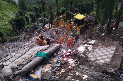 Gia tăng thương vong trong vụ sập nhà tại Ấn Độ