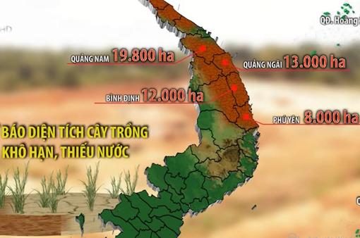 Hạn hán gia tăng ở Trung Bộ