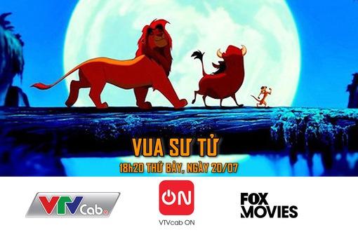 """Phiên bản gốc của """"Vua sư tử"""" phát sóng trên VTVcab"""
