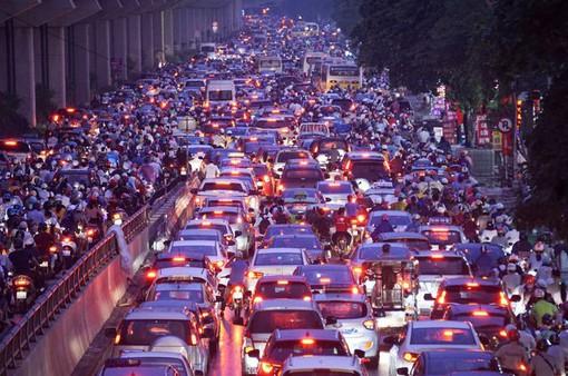 Bất cập giao thông tại đường Nguyễn Trãi