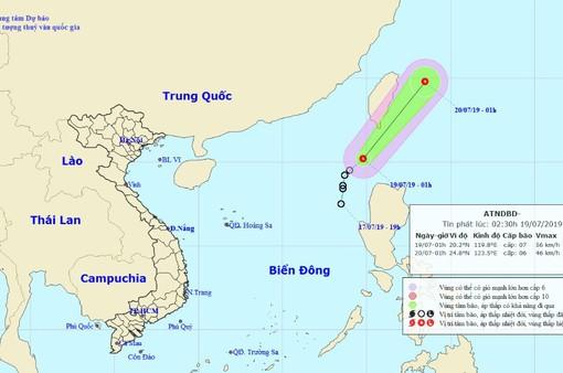 Áp thấp nhiệt đới giật cấp 9, Thanh Hóa - Phú Yên nắng nóng trên 38 độ C