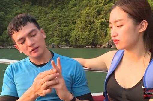 Hoa hậu Đỗ Mỹ Linh bật khóc vì thương Xuân Tiền bị rách tay ở Cuộc đua kỳ thú