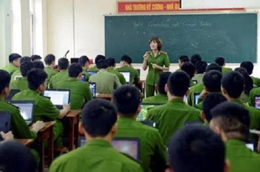 Học viện Cảnh sát nhân dân công bố ngưỡng điểm đăng ký xét tuyển