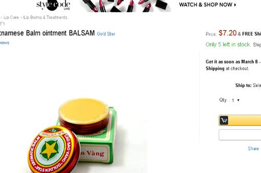 Loạt mặt hàng tự nhiên, handmade của Việt Nam đắt hàng trên Amazon