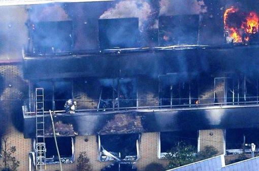 Vụ cháy xưởng phim hoạt hình Kyoto: Nạn nhân bị ngạt khí độc