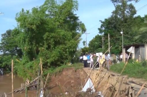 Sạt lở đe dọa hơn 9.000 hộ dân ở An Giang
