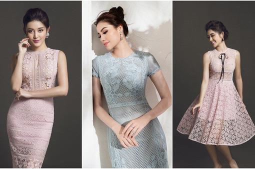 Đầm ren pastel - Xu hướng chinh phục mọi cô gái