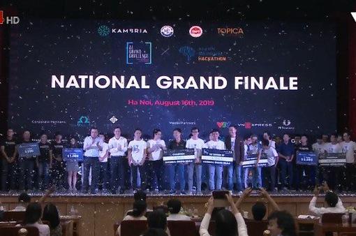 Chung kết cuộc thi Hackathon Vietnam Al Grand Challenge 2019