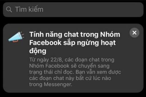 Thông báo ngắn gọn của Facebook khiến hàng triệu người hoang mang