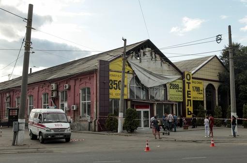 Gần 20 người thương vong trong vụ cháy khách sạn tại Odessa, Ukraine