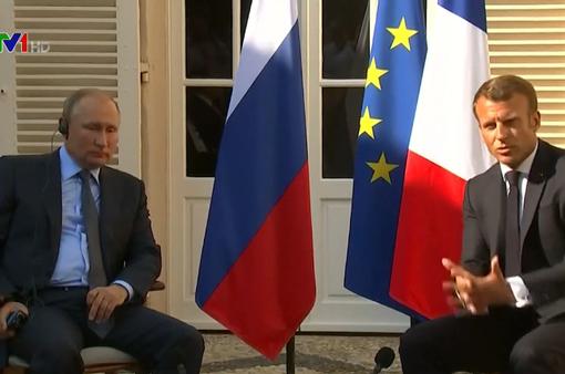 Nga, Pháp cải thiện quan hệ dù còn nhiều bất đồng