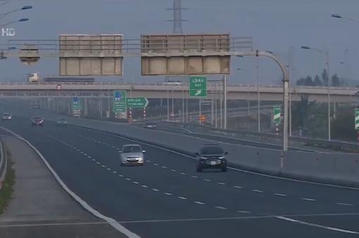 Nguyên nhân các xe không đi vào cao tốc Hà Nội - Hải Phòng