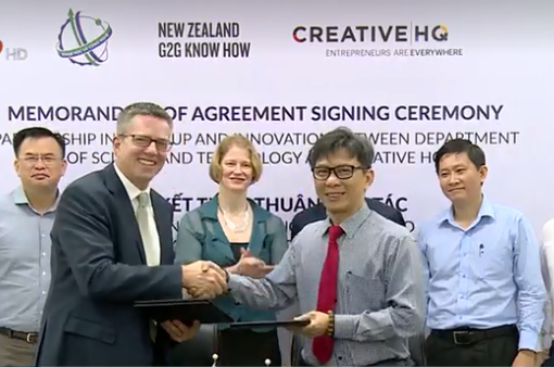 Hợp tác về khởi nghiệp sáng tạo giữa TP.HCM và New Zealand