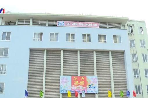Phát hiện hàng loạt sai phạm tại thư viện tỉnh Nghệ An