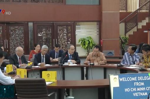 TP.HCM thúc đẩy hợp tác toàn diện với các đối tác Indonesia