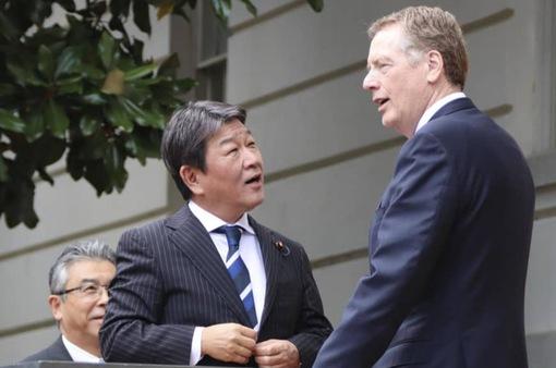 Mỹ - Nhật Bản đạt đồng thuận lớn hướng tới ký thỏa thuận thương mại