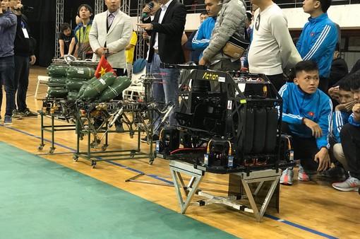 ABU Robocon 2019: Các đội tuyển trình diễn và chia sẻ kinh nghiệm chế tạo robot