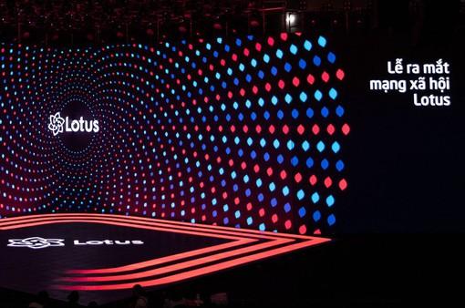 Bật mí sân khấu lễ ra mắt mạng xã hội Lotus trước giờ G