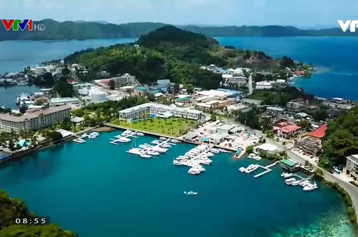 Thiên đường biển đảo Palau