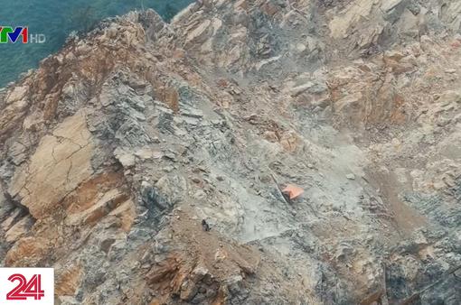 Tử nạn tại mỏ khai thác đá: Do đá rơi và lỗi của người đã khuất?