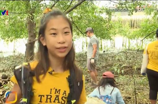"""Thái Lan: Cô bé 12 tuổi trở thành """"người hùng"""" chống rác thải nhựa"""