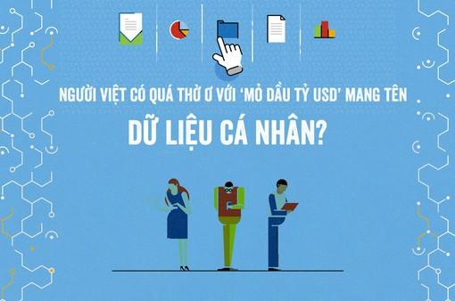 """Người Việt có quá thờ ơ với """"mỏ dầu tỷ USD"""" mang tên dữ liệu cá nhân?"""