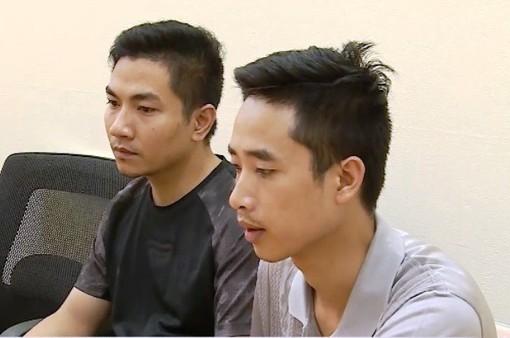 Bắt giữ 2 đối tượng xử lý mâu thuẫn cá nhân bằng bom thư tại chung cư Linh Đàm