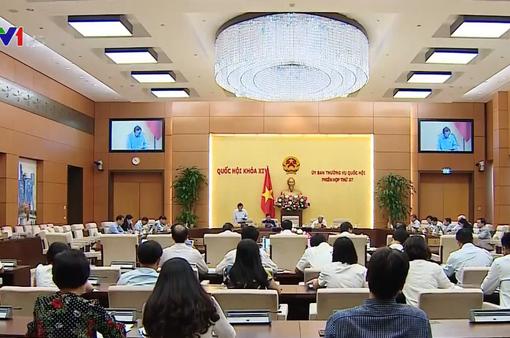 UBTV Quốc hội thảo luận dự thảo nghị quyết về xử lý tiền nợ thuế