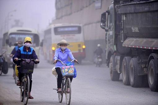 Không khí ở Hà Nội ô nhiễm kéo dài, liên tục trong nhiều ngày