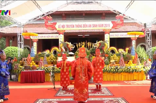 Lễ hội truyền thống đền An Sinh