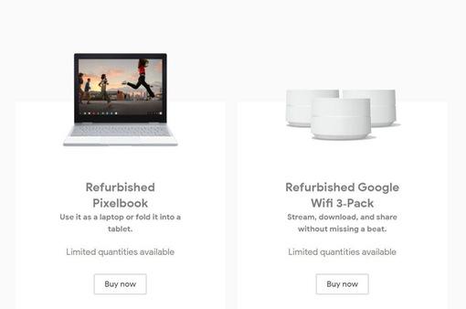 """Google lẳng lặng chuyển sang bán sản phẩm công nghệ """"tân trang"""""""