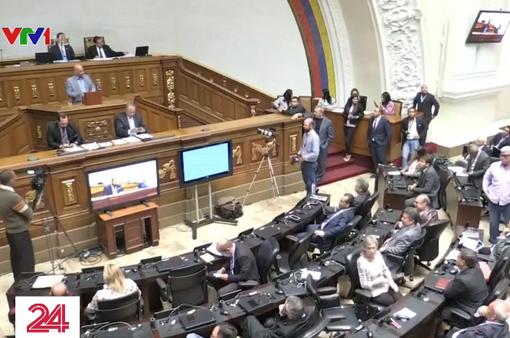 Quốc hội Venezuela phê chuẩn lãnh đạo đối lập làm tổng thống lâm thời