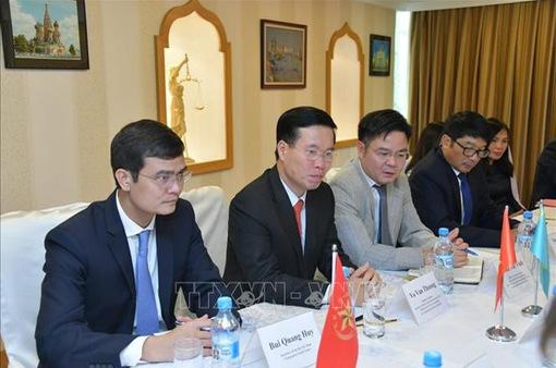 Thúc đẩy hợp tác Việt Nam - Kazakhstan