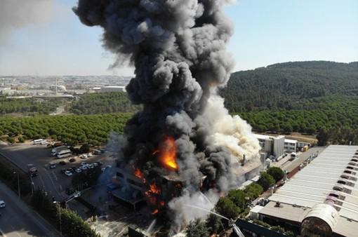 Nổ lớn tại nhà máy hóa chất ở Thổ Nhĩ Kỳ