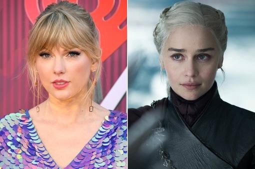 """Taylor Swift tự so sánh bản thân với """"Mẹ Rồng"""" của """"Game of Thrones"""""""
