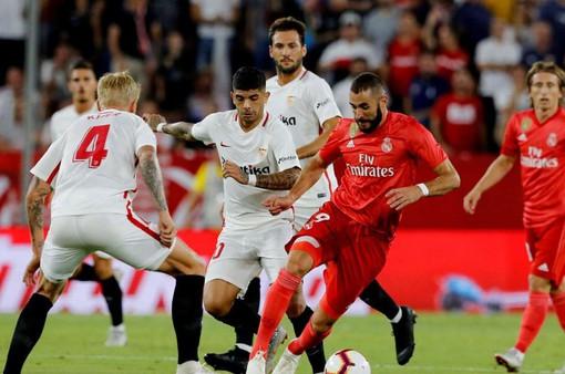 Lịch trực tiếp bóng đá La Liga vòng 5: Real Madrid đối đầu Sevilla