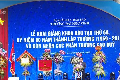 Kỷ niệm 60 năm thành lập trường Đại học Vinh