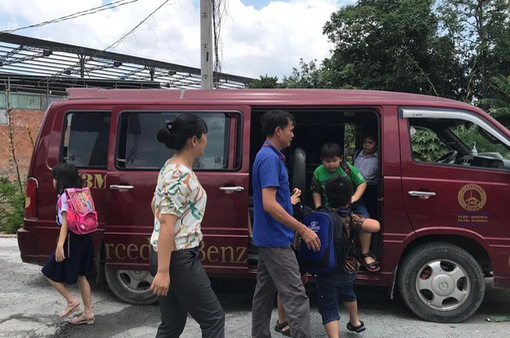TP.HCM: Hiệu trưởng phải chịu trách nhiệm trong tổ chức xe đưa đón học sinh