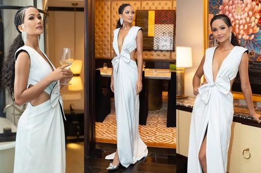 Hoa hậu H'Hen Niê khác lạ trong bộ ảnh phong cách tân cổ điển