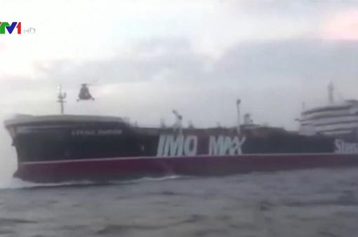 Iran phóng thích tàu chở dầu Stena Impero