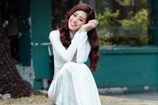"""Hoa hậu Khánh Vân: """"Tết là dịp đoàn viên, được ở cạnh những người mình yêu quý"""""""