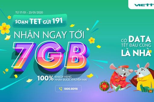 Viettel tặng data 4G cho tất cả các khách hàng trong dịp Tết