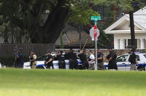 Nổ súng tại Hawaii, Mỹ, 2 cảnh sát thiệt mạng